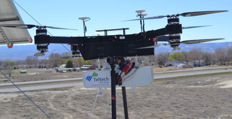 Tethered Drone Technology Solution
