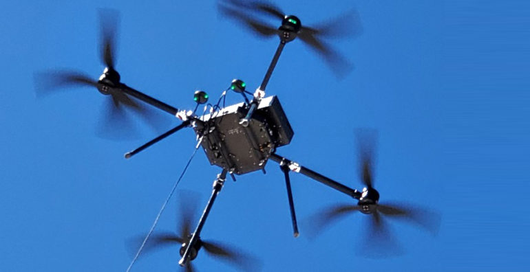 New Teltech Drone Offers Virtually Unlimited Power